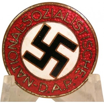 NSDAP member badge marked M 1/63 RZM. Espenlaub militaria
