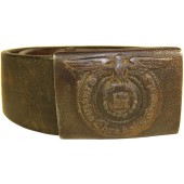 Waffen SS belt and steel buckle.