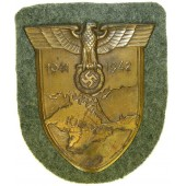 1941-1942 Krim shield bronzed steel