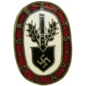 Arbeitsdank-Abzeichen 1.Form, klein. Smaller version of the badge - Labor Thanks