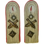 Artillery shoulder boards for Ordinance Hauptmann