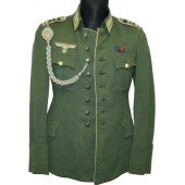 Dienstrock/Ausgehrock- Parade/Everyday tunic for Stabsfeldwebel of 37th Infantry Regiment