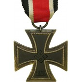 Eisernes Kreuz/Iron cross 2nd class with broad frame, unmarked,  E Muller