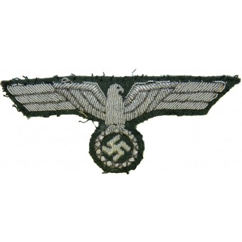 Fieldgrey tunic removed Heeres eagle- Bullion. Espenlaub militaria
