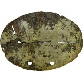 Galizian volunteer SS dog-tag