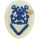 Kriegsmarine rank badge for NCOs career - Navigating Helmsman