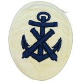 Kriegsmarine rank badge for NCOs - Pyrotechnician