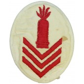 Kriegsmarine speciality/trade patch. Ships heavy Artillery Gun Chief or higher educated personnel