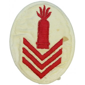 Kriegsmarine speciality/trade patch. Ships heavy Artillery Gun Chief or higher educated personnel. Espenlaub militaria
