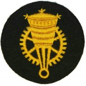 Kriegsmarine trade badge for enlisted personnel- Blocking weapon mechanics. Sperrwaffen mechaniker Laufbahnabzeichen