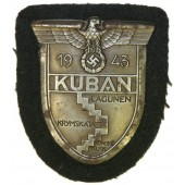 Kuban shield 1943, on black wool-for armored troops