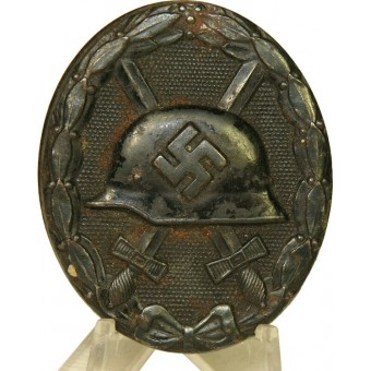L 21 marked Wound badge 1939 in Black.. Espenlaub militaria