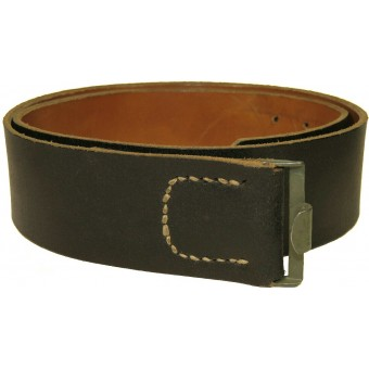 Leather combat belt, end war made. Espenlaub militaria