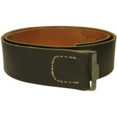 Leather combat belt, end war made