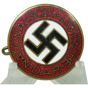 m 1/75 RZM Otto Schickle NSDAP Member badge, rare type