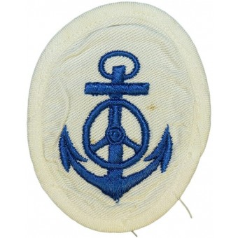 Kriegsmarine trade sleeve patch for motor transport NCOs- white summer uniforms. Espenlaub militaria