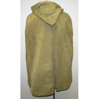 Red Army war time issued waterproof coat, Plash - Nakydka. Espenlaub militaria