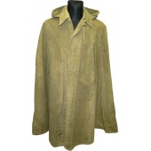 Red Army war time issued waterproof coat, Plash - Nakydka