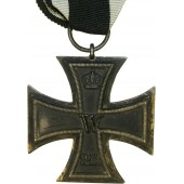 Unmarked Iron Cross 1914, second class