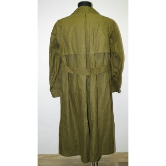 Wehrmacht Heer Tropical motorcyclist waterproof cotton coat - Kradmantel. Espenlaub militaria