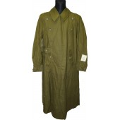 Wehrmacht Heer Tropical motorcyclist waterproof cotton coat - Kradmantel