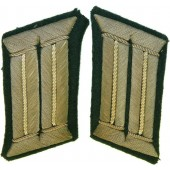 Wehrmacht Heer, tunic removed collar tabs for officer.