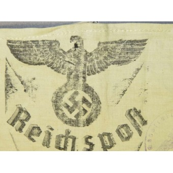 3rd Reich Post Service helper armband, has inscription Reichspost Soforthilfe. Espenlaub militaria