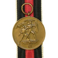 Annexation of the Sudetenland medal,1 Okt 1938 year