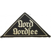 """BDM sleeve patch,  """"Nord Nordsee""""."""
