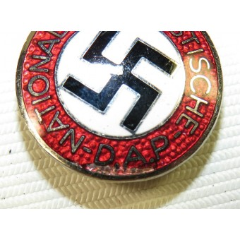German National Socialist Labor Party badge, NSDAP,  M1/137, rare.. Espenlaub militaria