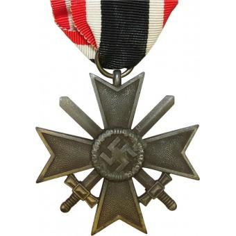 KVK2, War Merit Cross, 2nd class, zinc. Espenlaub militaria