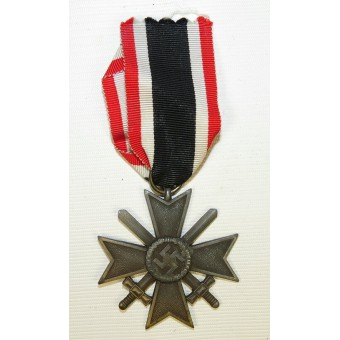 KVK2, War Merit Cross, 2nd class, zinc. Espenlaub militaria