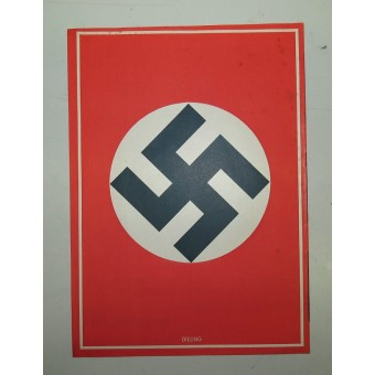 Voting brochure,1938.  Reunification (Anschluss) of Austria with the 3rd Reich.. Espenlaub militaria