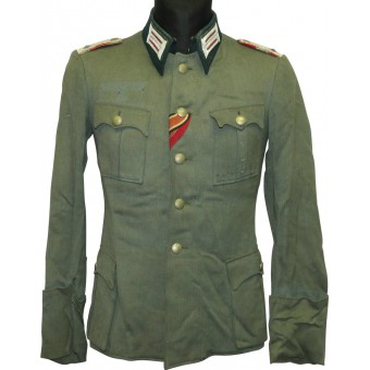 Wehrmacht Artillery officers tunic in ran Oberleutnant. Espenlaub militaria