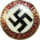 NSDAP party badge, middle size, GES.GESCH.