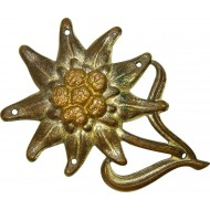 Pre-war edelweiss badge for the mountain troops cap