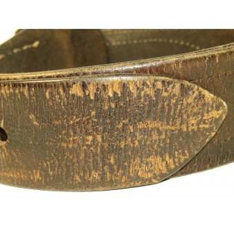 Red Army officer leather belt with buckle, M1935. Espenlaub militaria