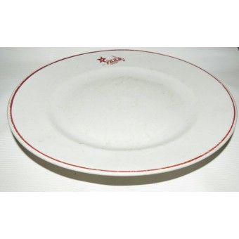RKKA mess big plate for main dishes. Espenlaub militaria