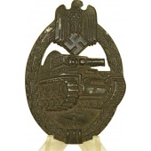 Tank Assault badge by Rufold Souval, Panzerkampfabzeichen, bronze