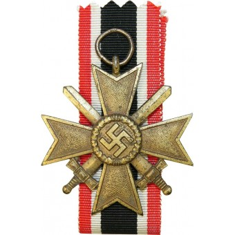 War Merit Cross, 2nd class, KVKII, marked 100. Espenlaub militaria