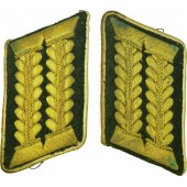 Wehrmacht Judicial Officials höherer Dienst - High Grade career collar tabs