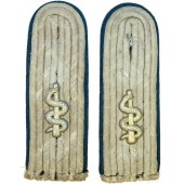 Wehrmacht medical service officer shoulder boards for lieutenant