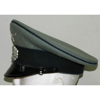Wehrmacht Sanitäter/Medical personnel visor hat for enlisted man. Espenlaub militaria