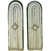 WW2 German shoulder boards for Polizei Obernspektor in Schutzpolizei