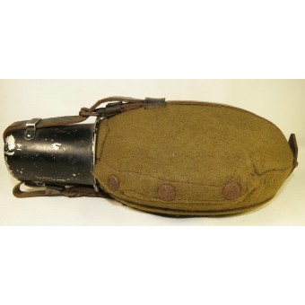 WW2 German water canteen for Wehrmacht or Waffen SS. Espenlaub militaria