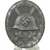 1939 Zinc made Wound badge 2nd class, Marked 30 for Hauptmünzamt Wien.