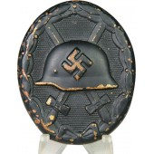 Black wound badge 1939. Repainted.