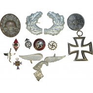 Set of German awards and badges from 3rd Reich period