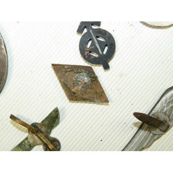 Set of German awards and badges from 3rd Reich period. Espenlaub militaria