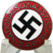 M1/127RZM marked NSDAP member badge. Alfred Stübbe